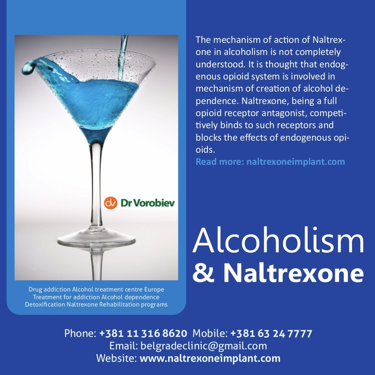 alcoholism-and-naltrexone-addiction-treatment-in-europe by naltrexoneimplant via Slideshare