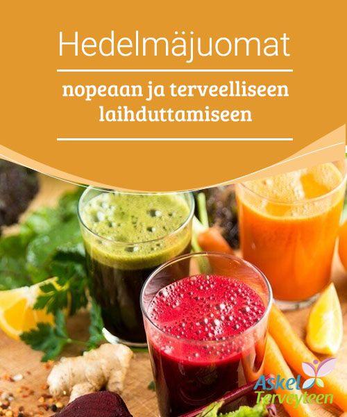 Hedelmäjuomat nopeaan ja terveelliseen laihduttamiseen   Koita hedelmäjuomia, joiden avulla voit karistaa ylimääräiset kilot terveellisesti ja nopeasti
