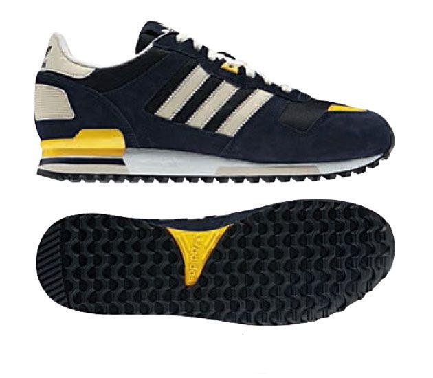 Melone correndo adidas zx 700 scarpe scarpe femminili bianco nero bollente