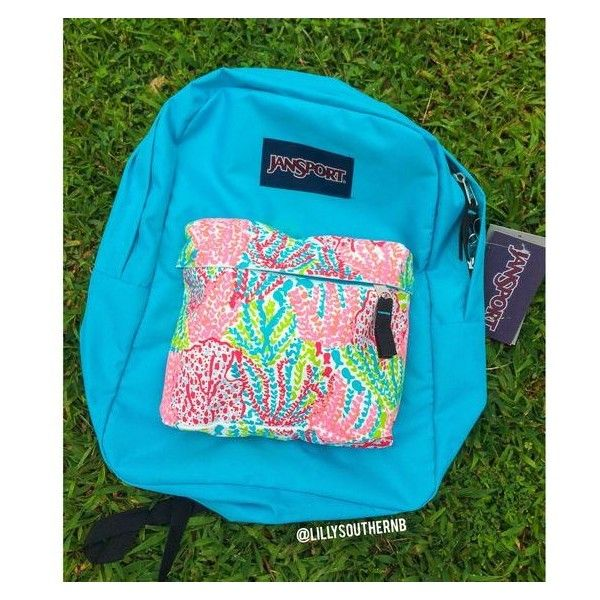 @LillySouthernB on Instagram! Lilly pulitzer hand painted backpack! ❤ liked on Polyvore featuring bags, backpacks, day pack backpack, blue backpack, knapsack bags, lilly pulitzer and rucksack bag