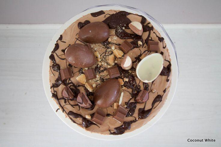 Coconut White: Pääsiäisen suklainen herkku - kinderjuustokakku!