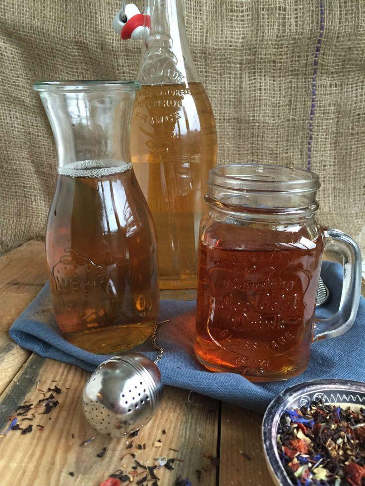 Cold brew ice tea is een makkelijke manier om ijsthee te maken zonder te koken. Het resultaat is een heerlijke zachte ijsthee. #recept www.lekkeretenmetlinda.nl