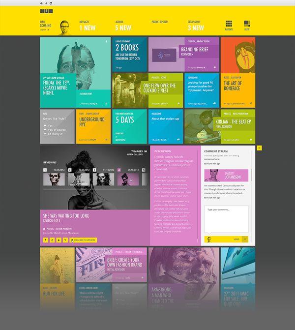 93 best images about UX: Tile-based Design on Pinterest