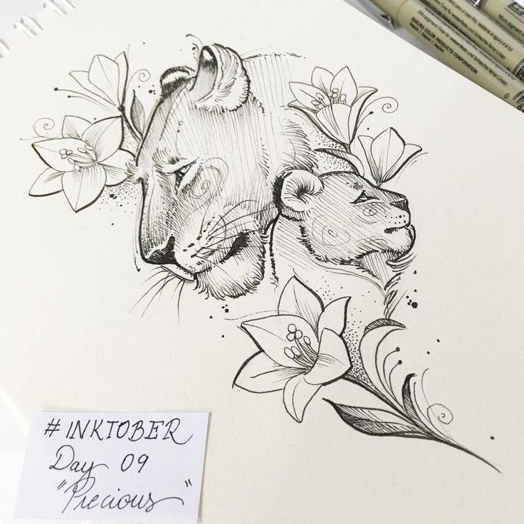 """Deborah Deh Soares on Instagram: """"Desafio #inktober ? Dia 9. """"Precious""""…"""