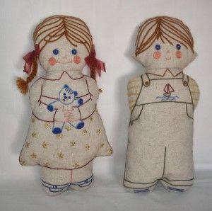 Rag Dolls - Twins