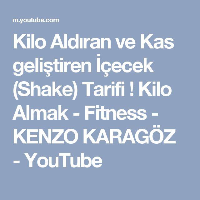 Kilo Aldıran ve Kas geliştiren İçecek (Shake) Tarifi ! Kilo Almak - Fitness - KENZO KARAGÖZ - YouTube
