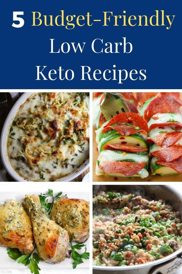 5 Delicious, Cheap, Low-Carb Dinner Recipes | Keto | Keto, Recipes