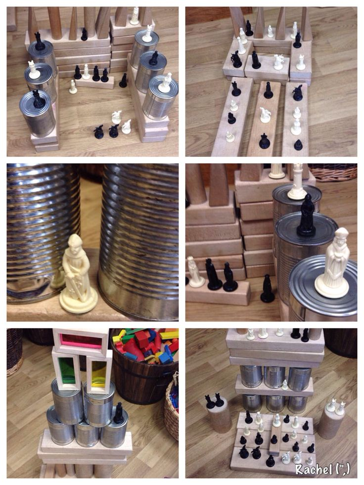"Chess pieces added to the construction area - from Rachel ("",)"