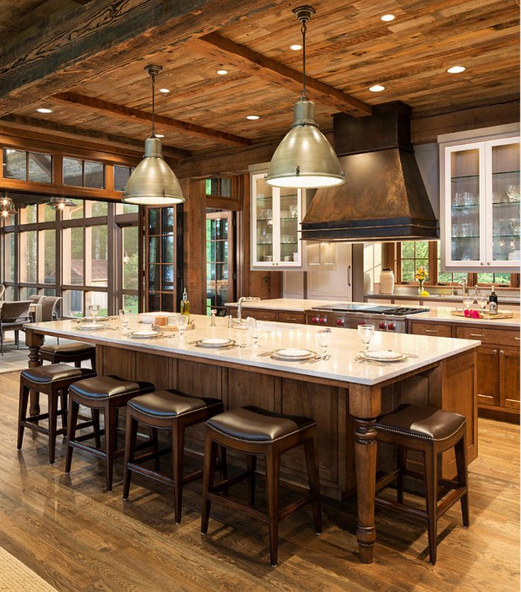 Centre Island Kitchen Designs: Best 25+ Large Kitchens With Islands Ideas On Pinterest