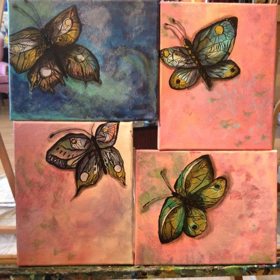 Butterfly Series  on Etsy, $83.57 CAD