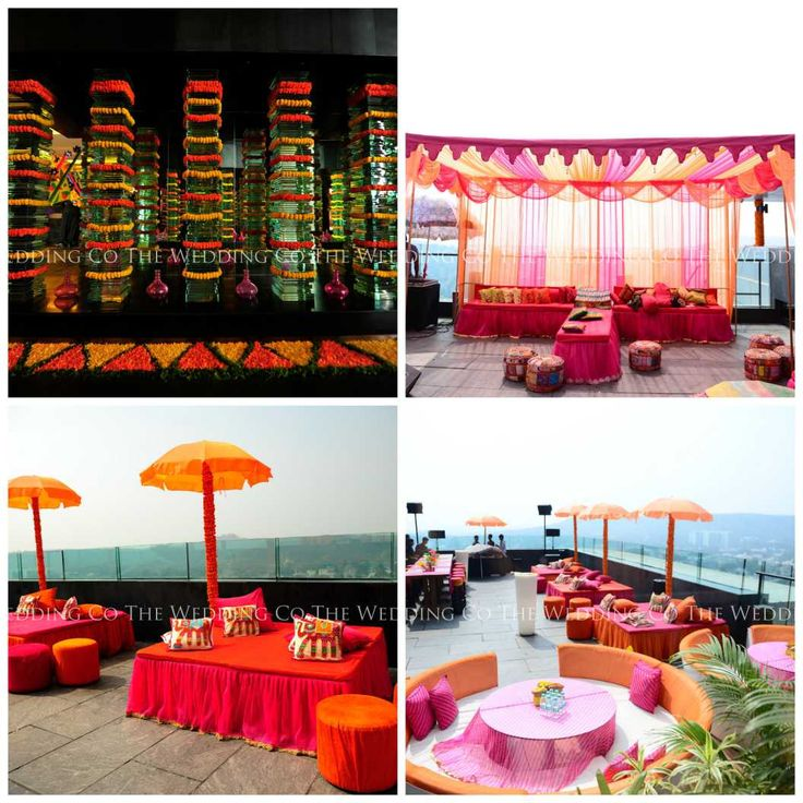 mehendi function | decor | colour | vibrant | wedding | outdoor | henna | wedding planners | wedding planner india | wedding planner mumbai | the wedding co | TWC India
