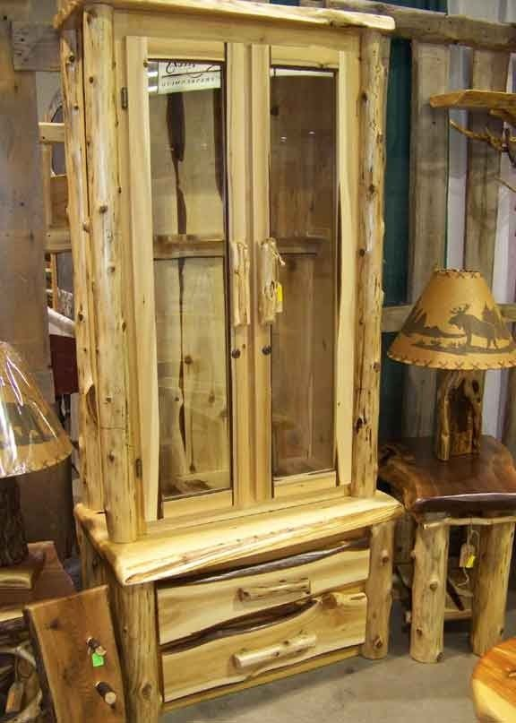 Handcrafted Rustic Gun Cabinet | Products I Love ...