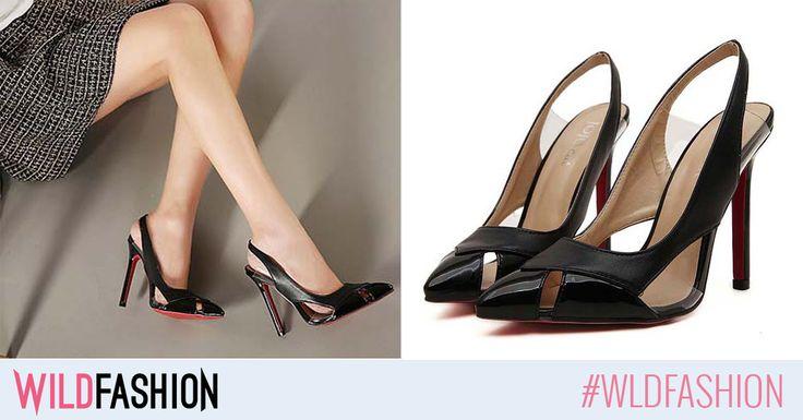 Incaltamintea neagra e cel mai usor de asortat la tinutele elegante. Ce ziceti de aceste sandale pentru urmatorul eveniment?
