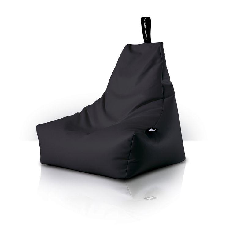 children's furniture - black bean bag