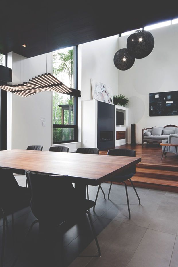 Inspiring Minimal Interior Design for Beautiful Dining Rooms. Mobili moderni per la zona pranzo.