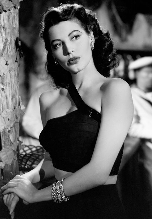 """I want to remember it all, the good times and the bad times, the late nights, the boozing, the dancing into dawns, and all the great and not-so-great people I met and loved in those years…"" - Ava Gardner in The Bribe (1949)"