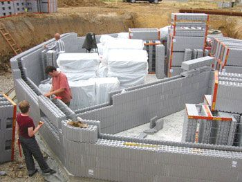 45 best ideas about concrete forms icf on pinterest for Insulated concrete construction