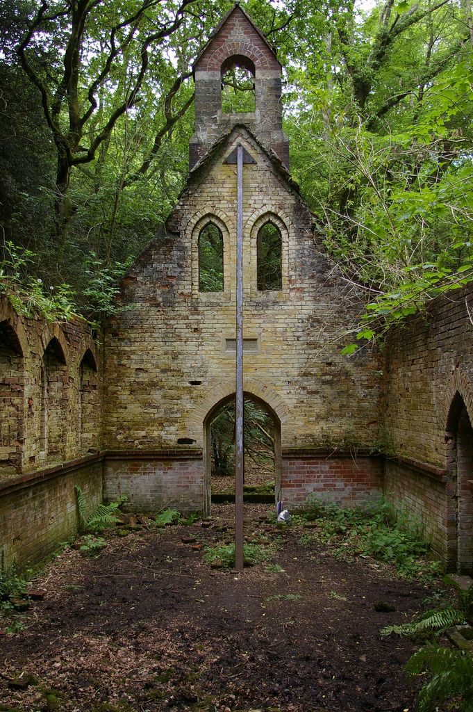 Chapel in the Woods, long since forgotten