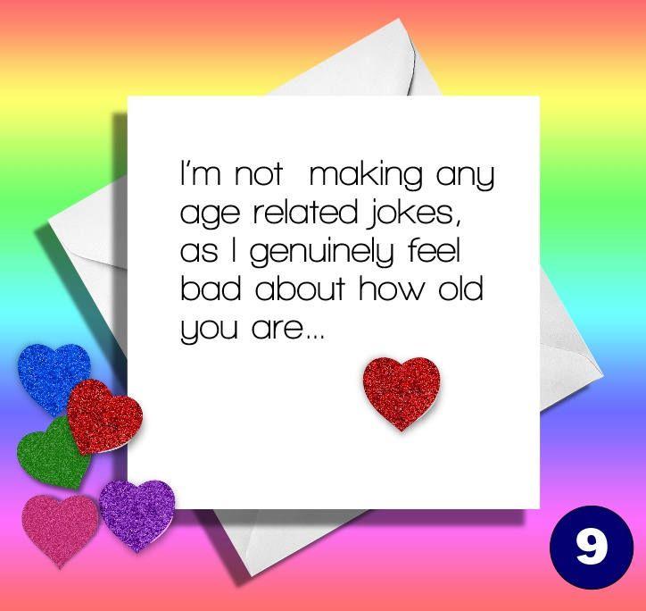 Funny Birthday Cardold Age Jokes Greetings Card Friendbrother