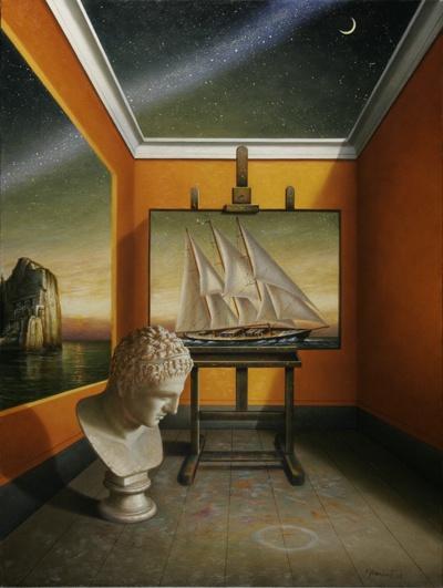 Title: I Viaggi Dell' Argonauta (2004) Artist: Antonio Nunziante. Nationality: Italian.