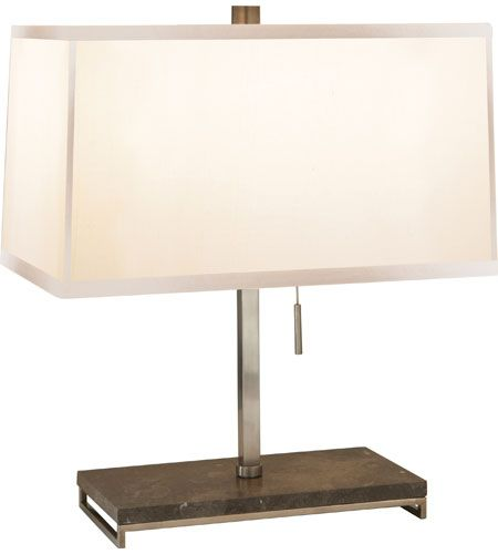 Visual Comfort Barbara Barry Philosophy 2 Light Decorative Table Lamp in Pewter Finish BBL3030PWT-S #visualcomfort #lightingnewyork #lighting