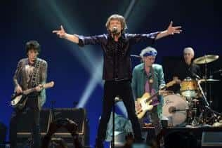 Rolling Stones on the stage. Rolling Stones live in Warsaw. Tickets available.