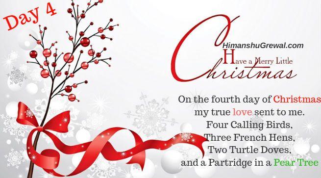 12 Days of Christmas Indian Lyrics