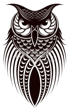 owl Royalty Free Stock Vector Art Illustration