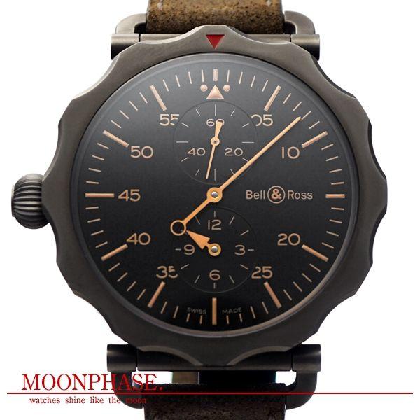 BELL&ROSS [ベル&ロス] ヴィンテージ WW2 ボンバー レギュレーター ブランド時計専門店:ムーンフェイズ 岐阜店