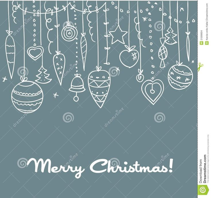 Hand Drawn Christmas Background - Download From Over 68 Million High Quality Stock Photos, Images, Vectors. Sign up for FREE today. Image: 21099604