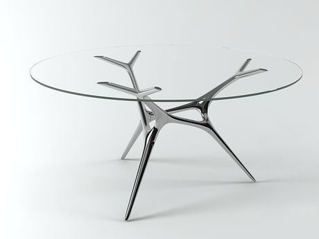 E Volved Table   Timothy Schreiber. 3ds MaxFurniture Design