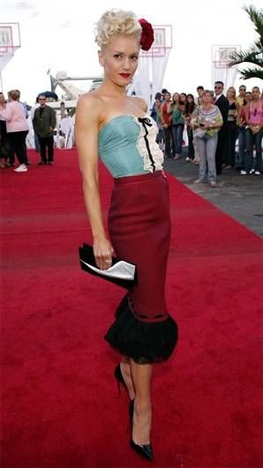 Gwen Stefani...love these colors