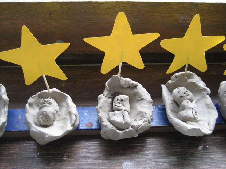 Kerst- Knutselen met Kinderen - Kindje in de kribbe - Bloggen.be
