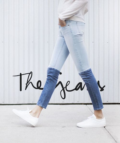 what-do-i-wear:  D.I.Y. Inspiration You can find the jeanshere(image:garancedore)