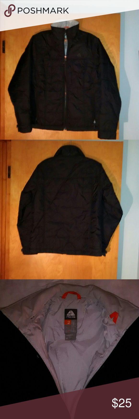 Nike ACG jacket Nike ACG black jacket looks like brand new !!! Nike Jackets & Coats