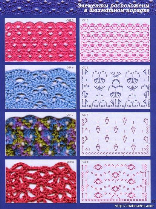 17 melhores imagens sobre croche pontos no pinterest - Almazuelas patrones gratis ...