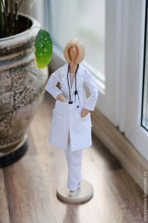Купить Доктор в стиле Тильда. - тильда, кукла Тильда, тильда врач, врач, доктор, медик