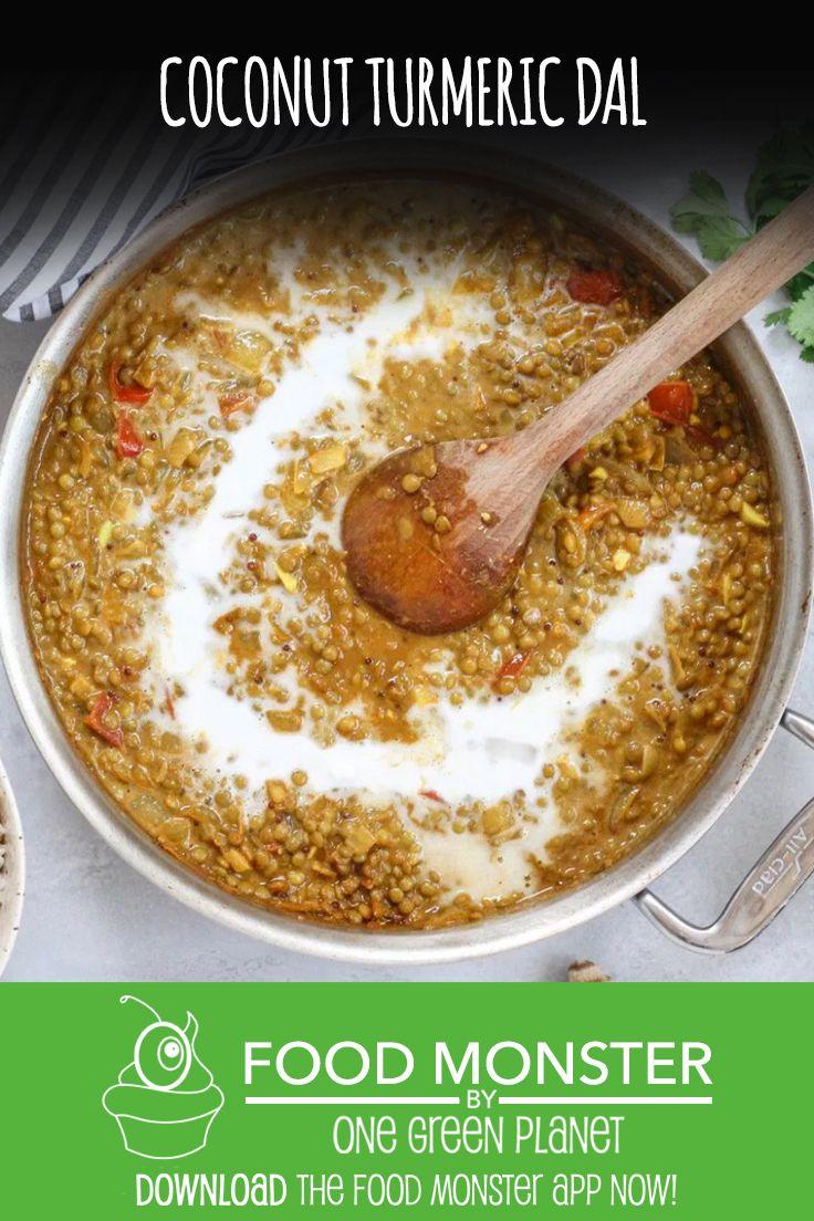 90 best vegan indian recipes images on pinterest vegan indian coconut tumeric dal forumfinder Choice Image