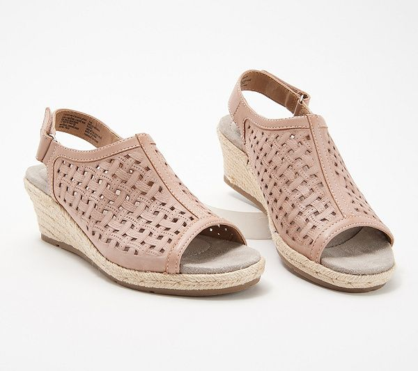 3f72d90b1db Earth Origins Leather Perforated Wedges - Naples Nevada in 2019 ...