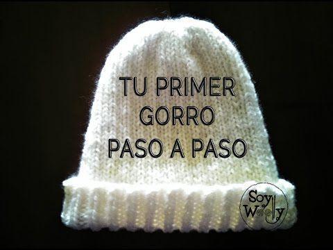 Teje tu primer GORRO: UNISEX, REVERSIBLE y A MEDIDA! - YouTube en español