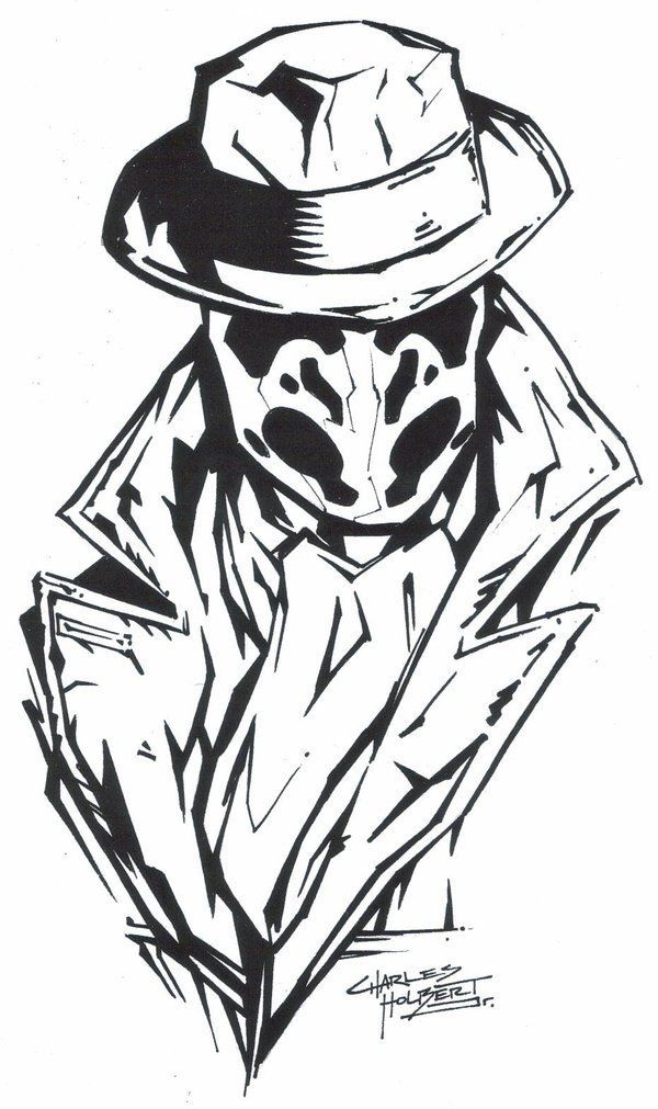 """""""M.I.A Rorshach""""  by ~KidNotorious -   Fan Art / Cartoons & Comics / Traditional / Miscellaneous"""