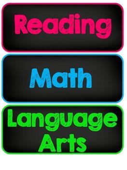 LEARNING OBJECTIVES DISPLAY - TeachersPayTeachers.com