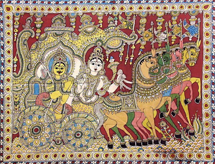 krishna-preaching-gita-to-arjuna-during-kurukshetra-AD40_l.jpg (900×689)