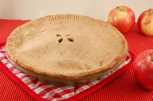 Whole Wheat (Fat-Free!) Vegan Pie Crust