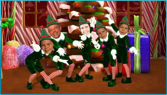 Freebies Calendar Christmas Go Elf Yourself