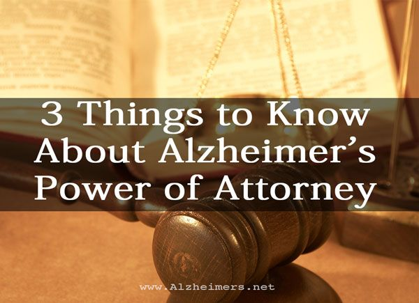 Planning for the future is so important after an #Alzheimer's diagnosis. Understand the importance of living wills and powers of attorney.