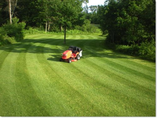 Lawn Striping: How to Mow Ballpark Grass Patterns in Your Yard | Simplicity Mowers