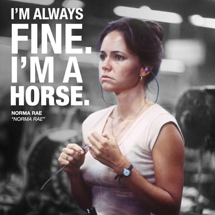 a review of norma rae a film starring sally field Wanting to find a new starring vehicle for field for her role in norma rae, field won the best female performance prize at the sally field at the tcm movie.