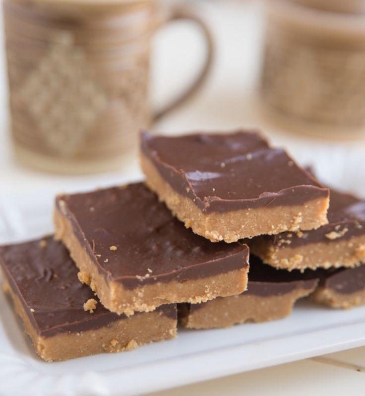 No-Bake Chocolate Peanut Butter Squares