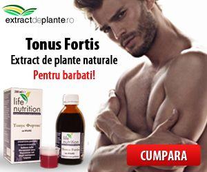 Produs naturist pentru potenta masculina,  Tonus FORTIS  este un supliment natural pentru barbati ce ofera virilitate si imbunatateste performantele sexuale. Extractul energizant natural este o selectie speciala din cele mai tonifiante plante medicinale din Bulgaria si guarana, imbogatit cu un complex de vitamine. Tonus Fortis ajuta mentinerea functiilor sexuale la barbati, asigurarea alimentarea cu oxigen si sange a organelor genitale cu efecte favorabile asupra rezistentei fizice…
